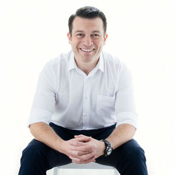 Lee Foster at Strathclyde Business Show